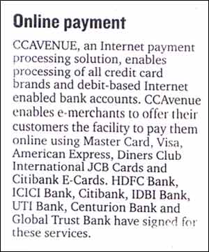 Online Payment - Published by Mid-day